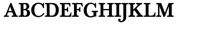 SG Baskerville No 1 SH Medium Font UPPERCASE