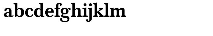 SG Baskerville No 1 SH Medium Font LOWERCASE