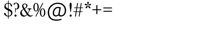 SG Baskerville No 1 SH Regular Font OTHER CHARS