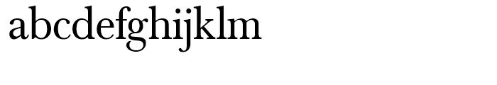 SG Baskerville No 1 SH Regular Font LOWERCASE