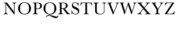 SG Baskerville SB Roman SC Font UPPERCASE