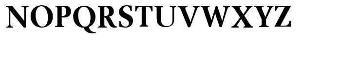 SG Berling SB Bold Condensed Font UPPERCASE
