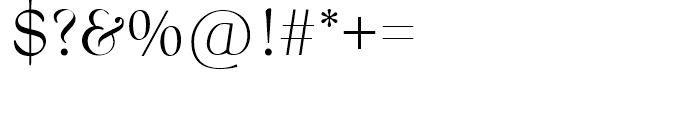 SG Bernhard Modern SB Regular Font OTHER CHARS