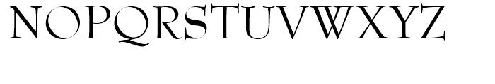 SG Bernhard Modern SB Regular Font UPPERCASE