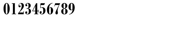 SG Bodoni No 1 SB Medium Condensed Font OTHER CHARS