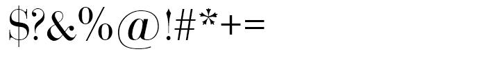 SG Bodoni SH Roman Font OTHER CHARS
