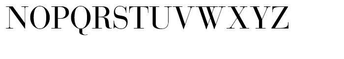 SG Bodoni SH Roman Font UPPERCASE