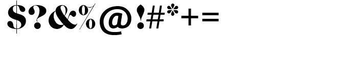 SG Caslon Graphique SH Regular Font OTHER CHARS