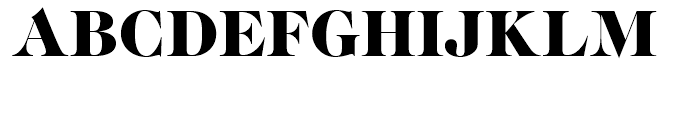 SG Caslon Graphique SH Regular Font UPPERCASE