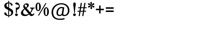 SG Caslon SB Medium Font OTHER CHARS