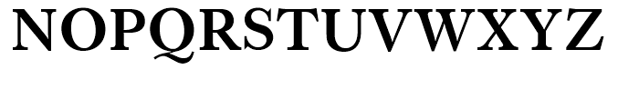 SG Caslon SB Medium Font UPPERCASE