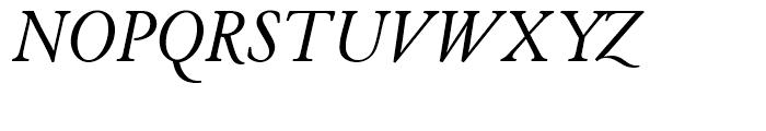SG Cloister Old Style SB Roman Italic Font UPPERCASE