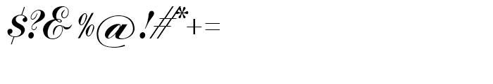 SG Commercial Script SB Regular Font OTHER CHARS