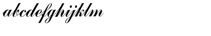SG Commercial Script SB Regular Font LOWERCASE