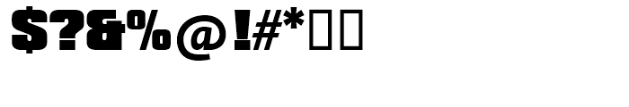 SG Compacta SH Black Font OTHER CHARS