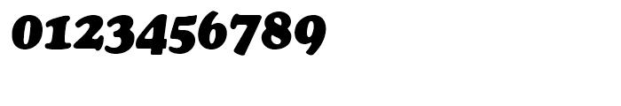 SG Cooper Black SH Italic Font OTHER CHARS