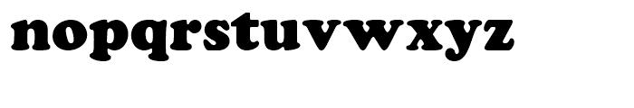 SG Cooper Black SH Regular Font LOWERCASE