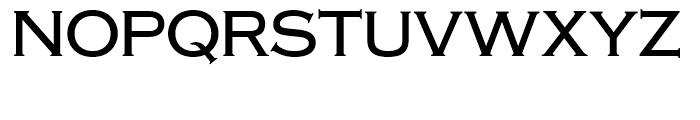SG Copperplate SH Regular Font UPPERCASE