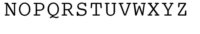 SG Courier SB Medium Font UPPERCASE