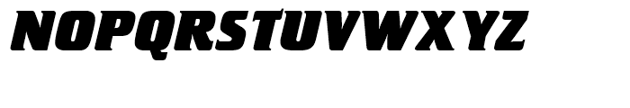 SG Crillee SB Extra Bold Italic Font UPPERCASE
