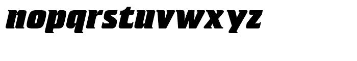 SG Crillee SB Extra Bold Italic Font LOWERCASE