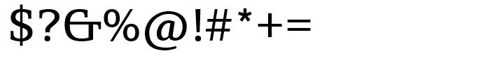 SG Egyptian 505 SB Regular Font OTHER CHARS