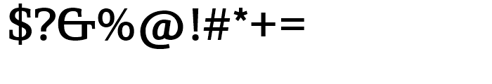 SG Egyptian 505 SH Medium Font OTHER CHARS
