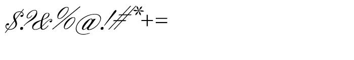 SG Englische Schreibschrift SB Regular Font OTHER CHARS