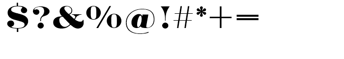 SG Engravers SB Medium Font OTHER CHARS