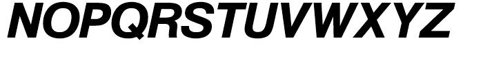 SG Europa Grotesk No 1 SH Medium Italic Font UPPERCASE