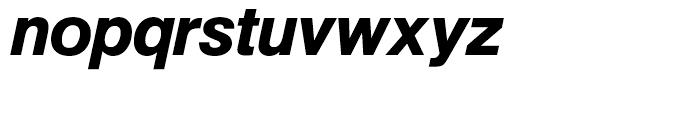 SG Europa Grotesk No 1 SH Medium Italic Font LOWERCASE