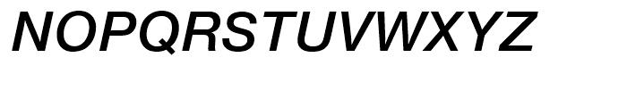 SG Europa Grotesk No 2 SB Medium Italic Font UPPERCASE