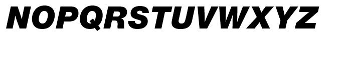 SG Europa Grotesk No 2 SB Ultra Italic Font UPPERCASE