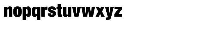 SG Europa Grotesk No 2 SH Black Condensed Font LOWERCASE