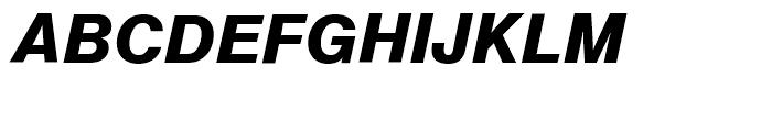 SG Europa Grotesk SB Demi Bold Italic Font UPPERCASE