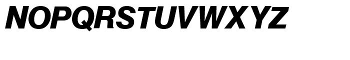 SG Europa Grotesk SH Demi Bold Italic Font UPPERCASE
