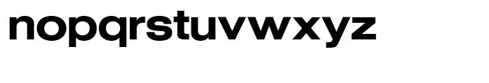 SG Europa Grotesk SH Medium Extended Font LOWERCASE