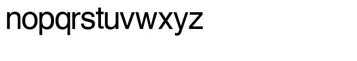 SG Europa Grotesk SH Regular Font LOWERCASE