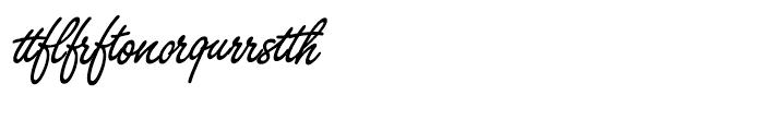 SG Freestyle Script SB Regular Alternative Font OTHER CHARS