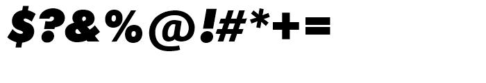 SG Futura SB Extra Bold Italic Font OTHER CHARS
