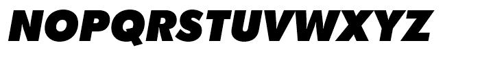 SG Futura SB Extra Bold Italic Font UPPERCASE