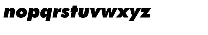 SG Futura SB Extra Bold Italic Font LOWERCASE