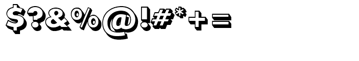 SG Futura SB Shaded Extra Bold Font OTHER CHARS