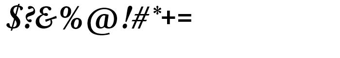 SG Garamond No 1 SB Medium Italic Font OTHER CHARS