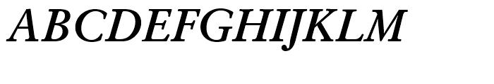 SG Garamond No 1 SB Medium Italic Font UPPERCASE