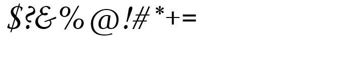 SG Garamond No 1 SB Roman Italic Font OTHER CHARS