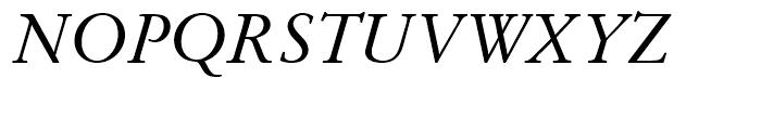 SG Garamond No 1 SB Roman Italic Font UPPERCASE