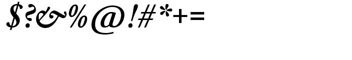 SG Garamond No 2 SB Medium Italic Font OTHER CHARS