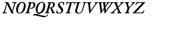 SG Garamond No 2 SB Medium Italic Font UPPERCASE