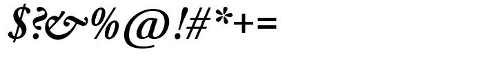 SG Garamond No 2 SH Medium Italic Font OTHER CHARS